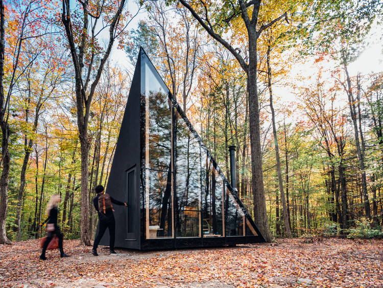 Tiny Frame House in Architectural Style