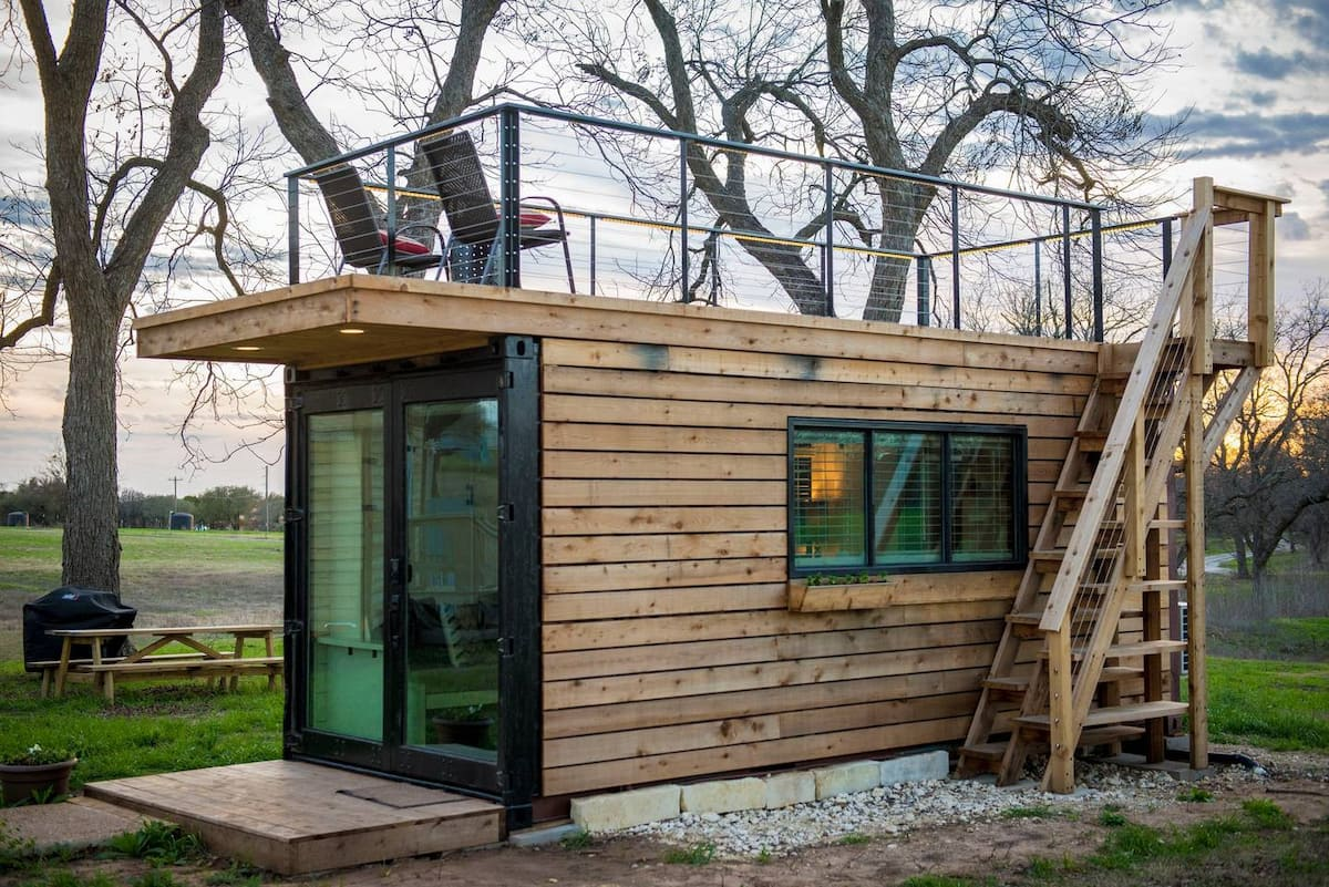 Anchor Shipping Container House by CargoHome