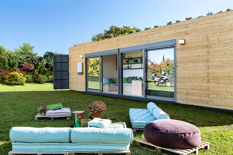 Cocoon Modules Shipping Container House