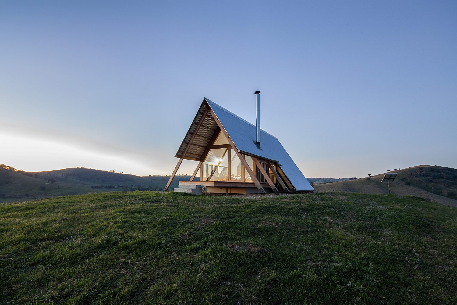 JR's Small A-Frame Cabin
