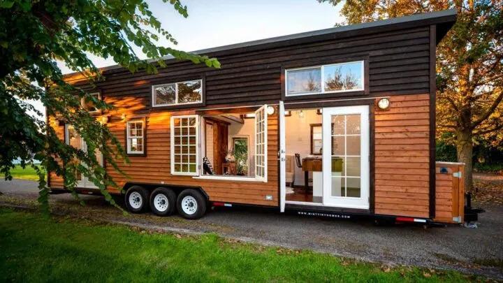 34 'Custom Designed House by Miny Tiny Homes
