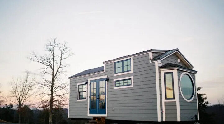 Monocle Tiny House by Wind River