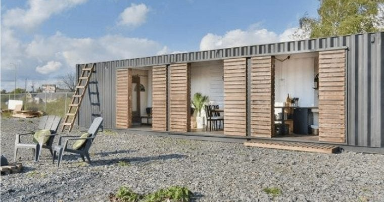 Kahnawake Shipping Container