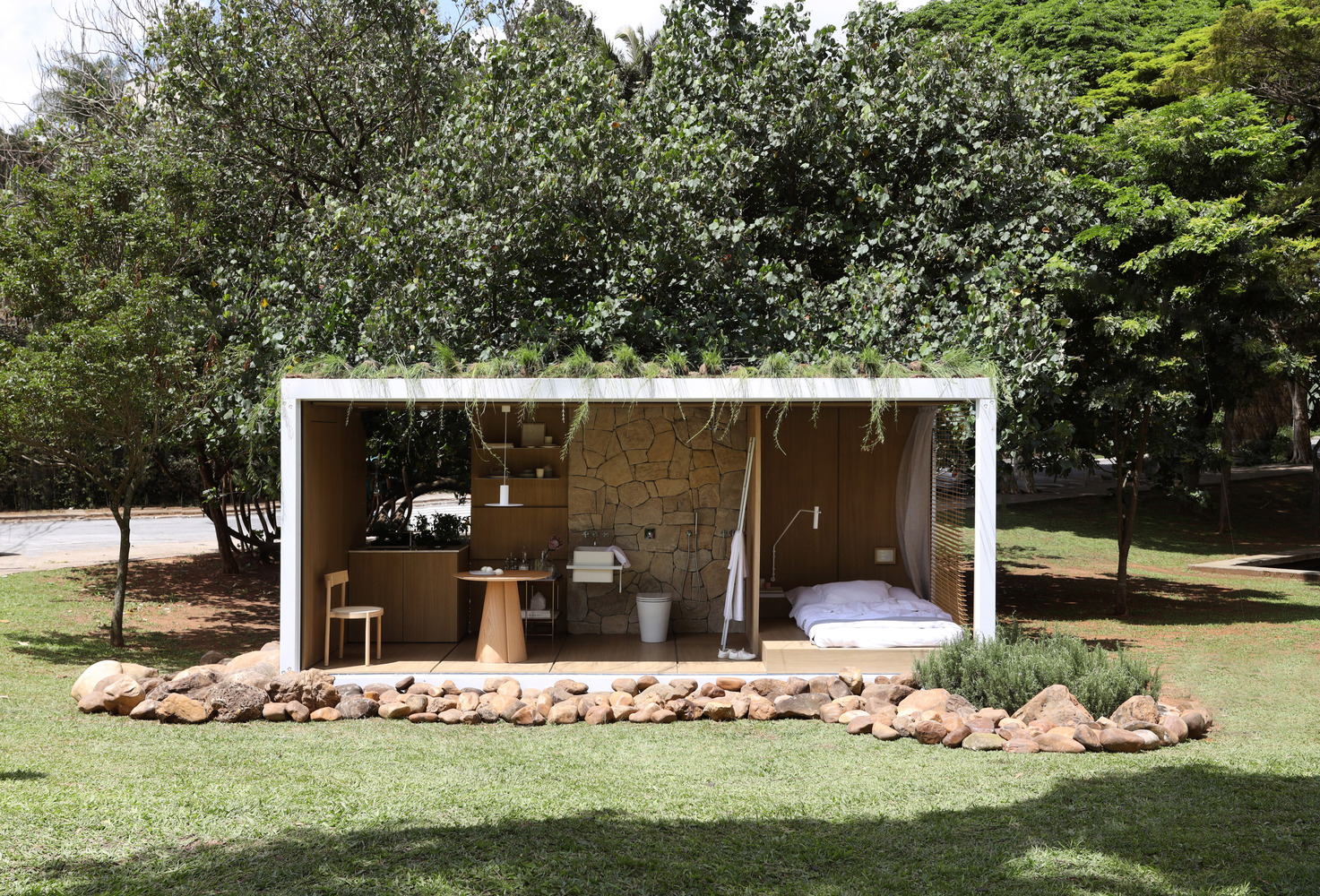 Amazing Container in Harmony with Nature by Elo Studio