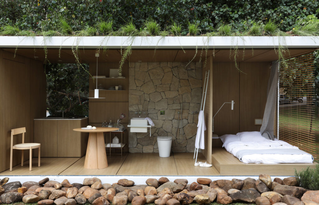 Amazing Container in Harmony with Nature by Elo Studio 12