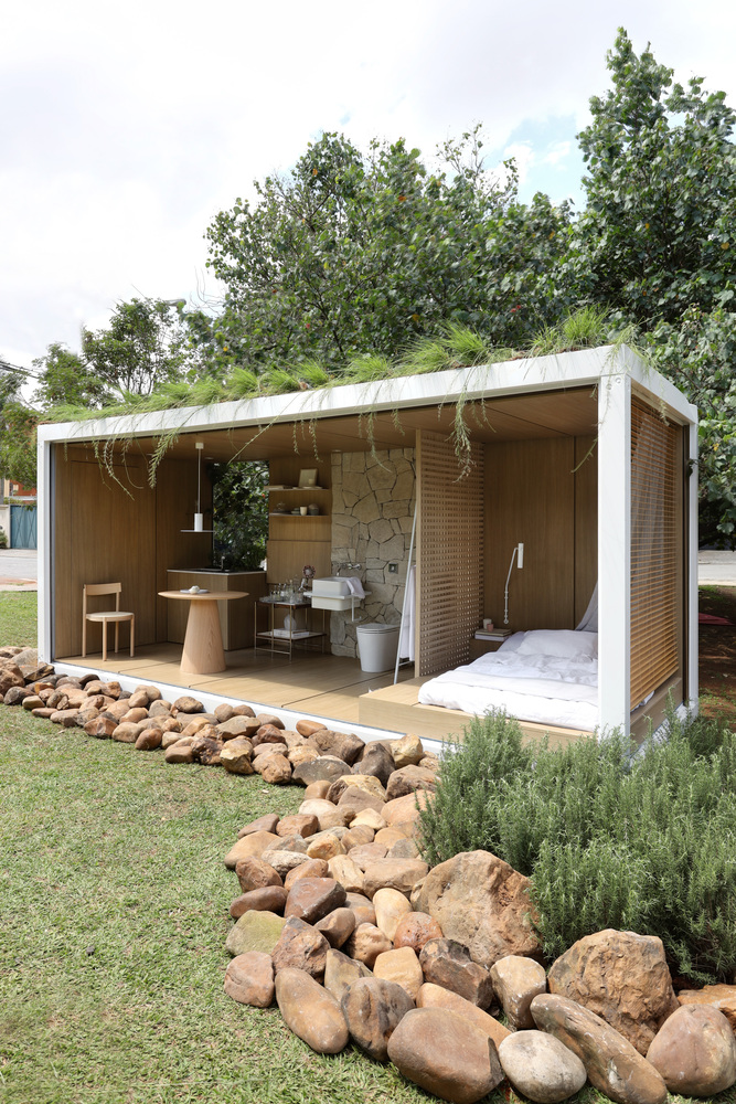 Amazing Container in Harmony with Nature by Elo Studio 17