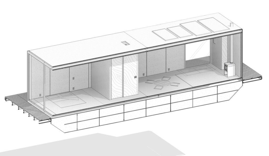 Floating House WaterlilliHaus 20