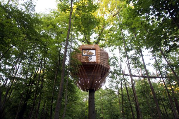 Wonderful ORIGIN Tree House in France