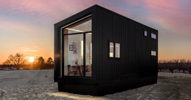 Asymmetrical Design Luna Tiny House