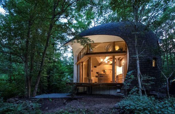 Shell House by Tono Mirai Architects