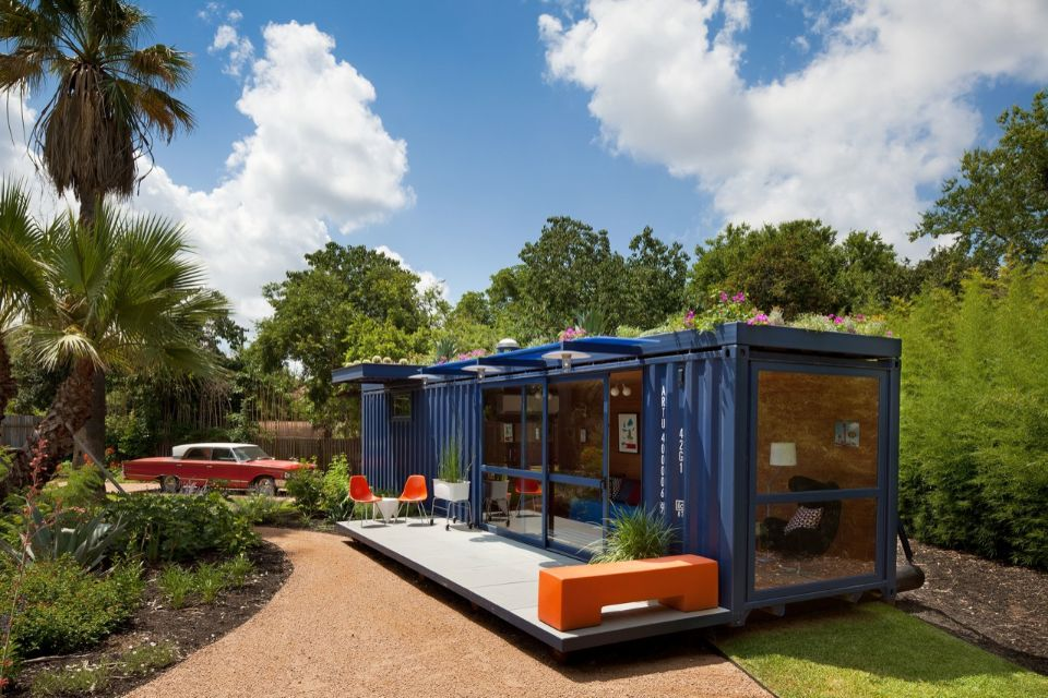 Shipping Container Guest House in United States