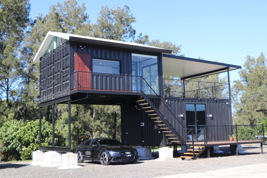 The Executive Shipping Container with a Modern Design