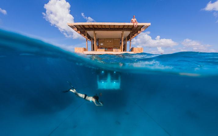 Amazing Tiny House with Underwater Room