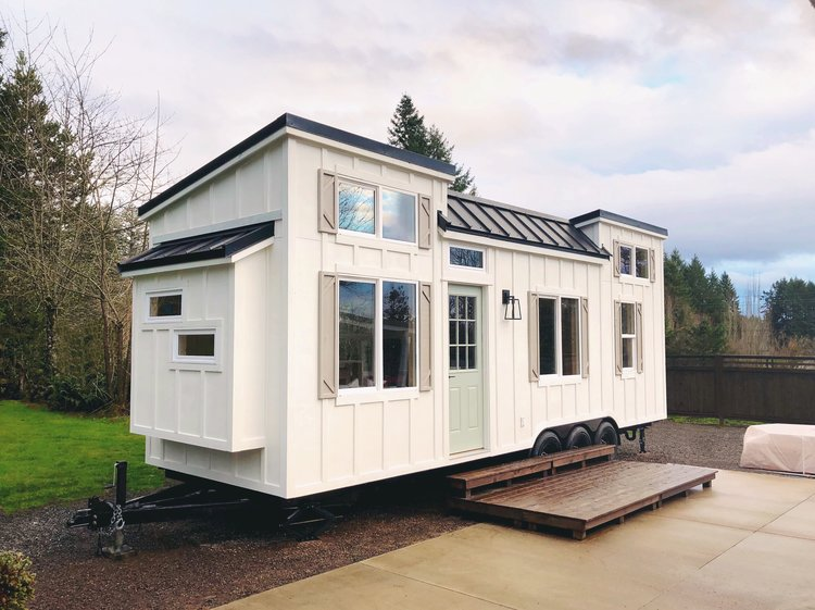 Coastal Craftsman Tiny House by Handcrafted Movement