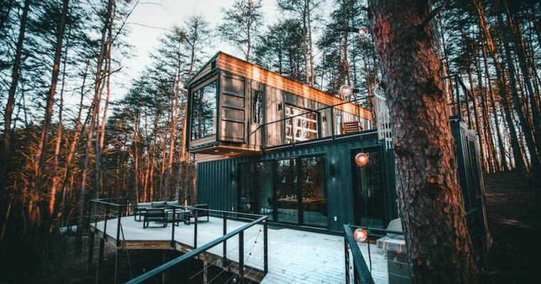 The Box Hop Shipping Container