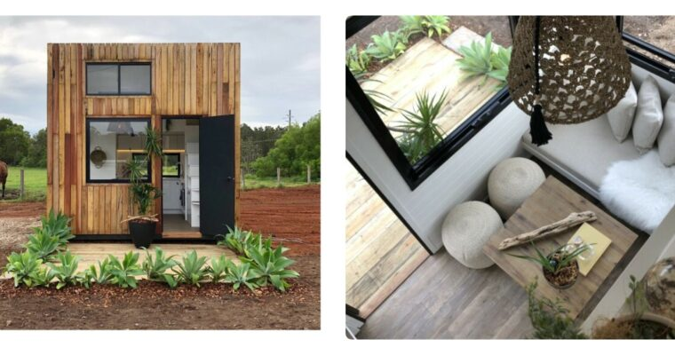 Interesting Design The Cube Tiny House By Little Byron