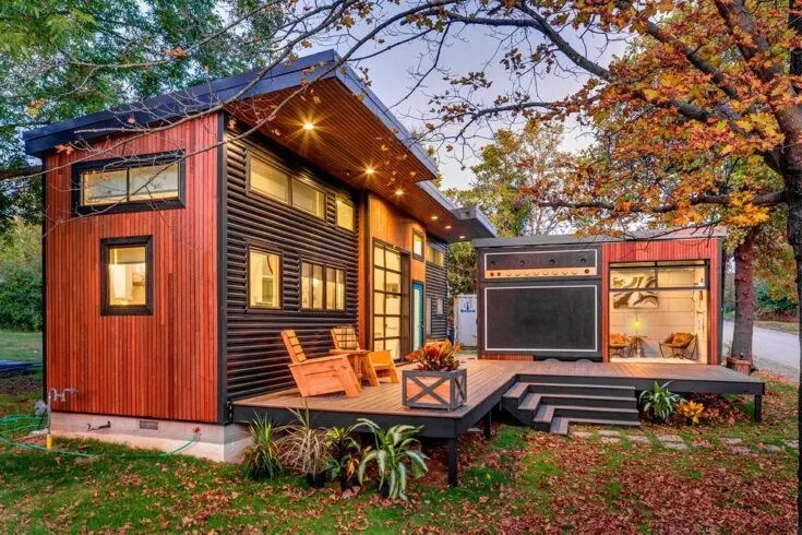 Amplified Tiny House with Different Design