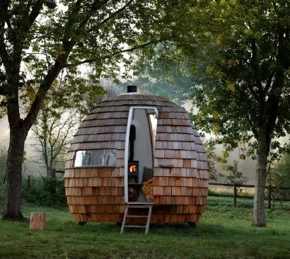 Escape Pod Tiny Home by Podmakers