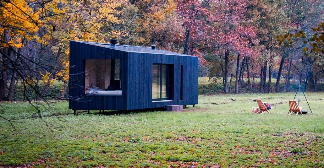 Slow Cabins by Xavier Leclair in Belgium